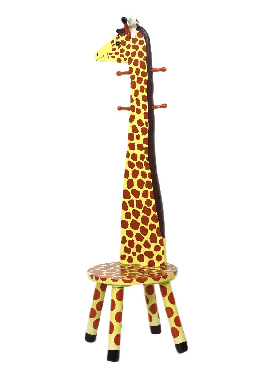 FANTASY FIELDS Fantasy Fields?, Lehnen-Hocker mit Garderobenfunktion »Giraffe«