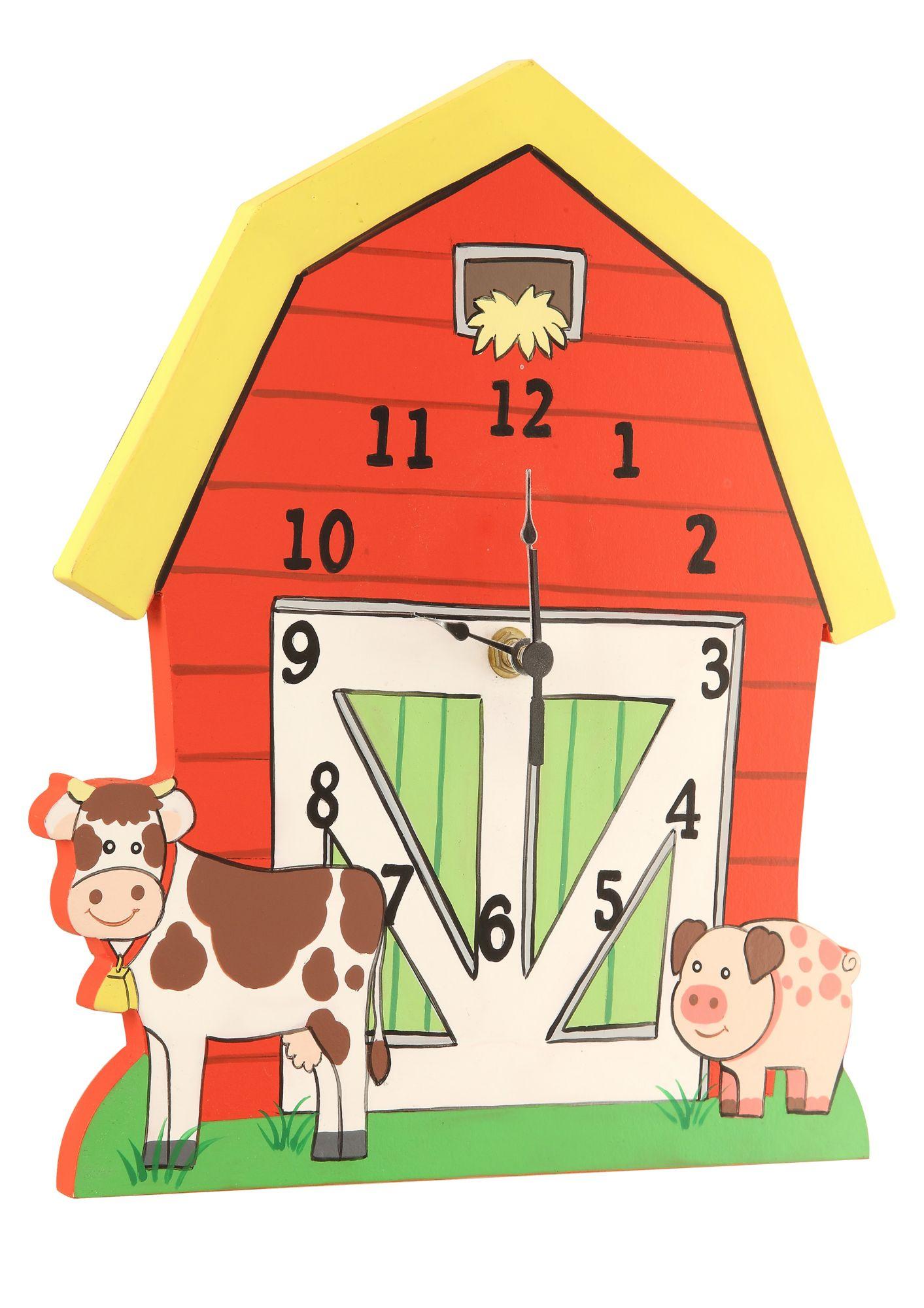 FANTASY FIELDS Fantasy Fields?, Wanduhr, »Happy Farm«
