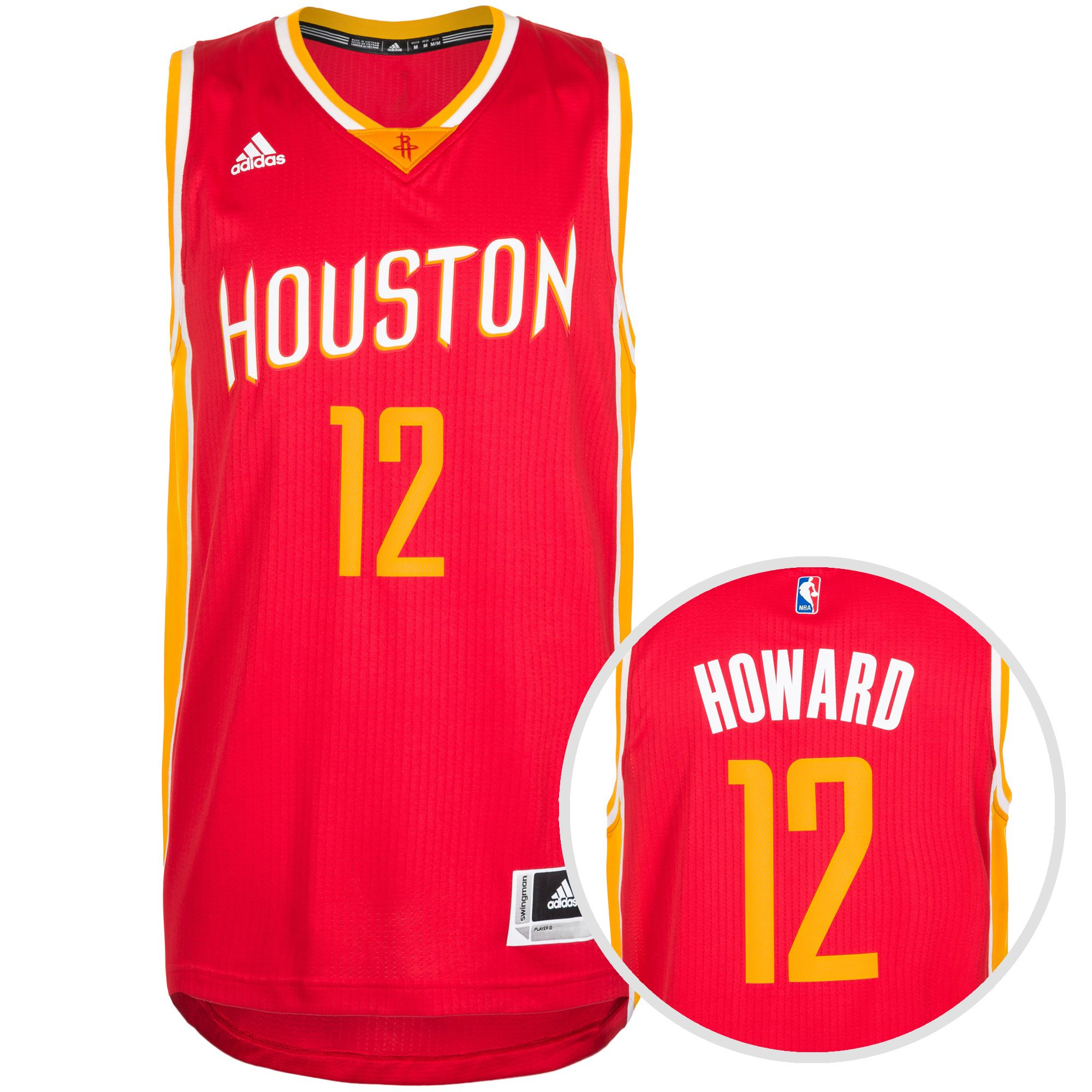 ADIDAS PERFORMANCE adidas Performance Houston Rockets Howard Swingman Basketballtrikot Herren