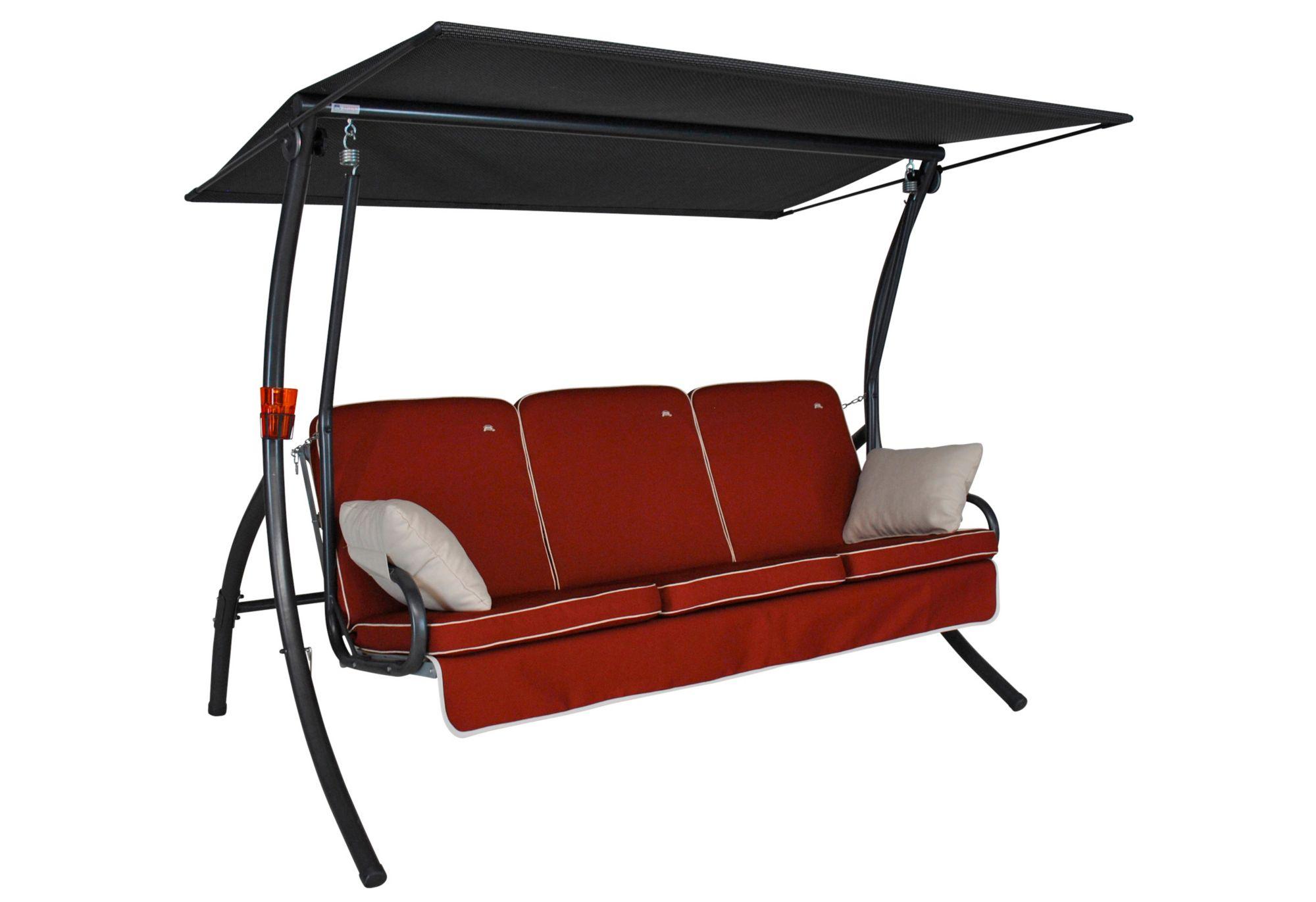 ANGERER FREIZEITMÖBEL  Hollywoodschaukel »Primero Style«, 3-Sitzer, orange