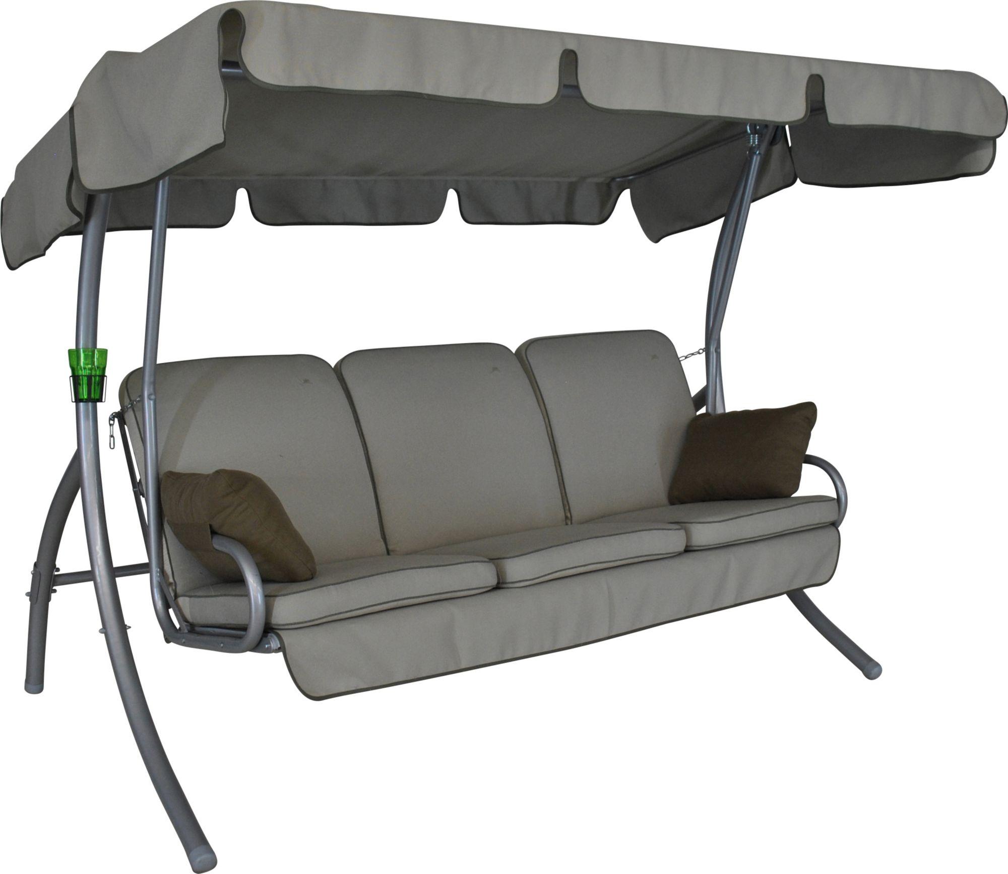 ANGERER FREIZEITMÖBEL  Hollywoodschaukel »Comfort Style«, 3-Sitzer, beige