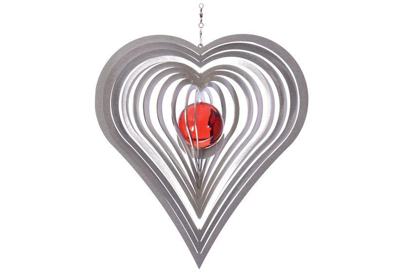 ILLUMINO Windspiel, »Herz«,