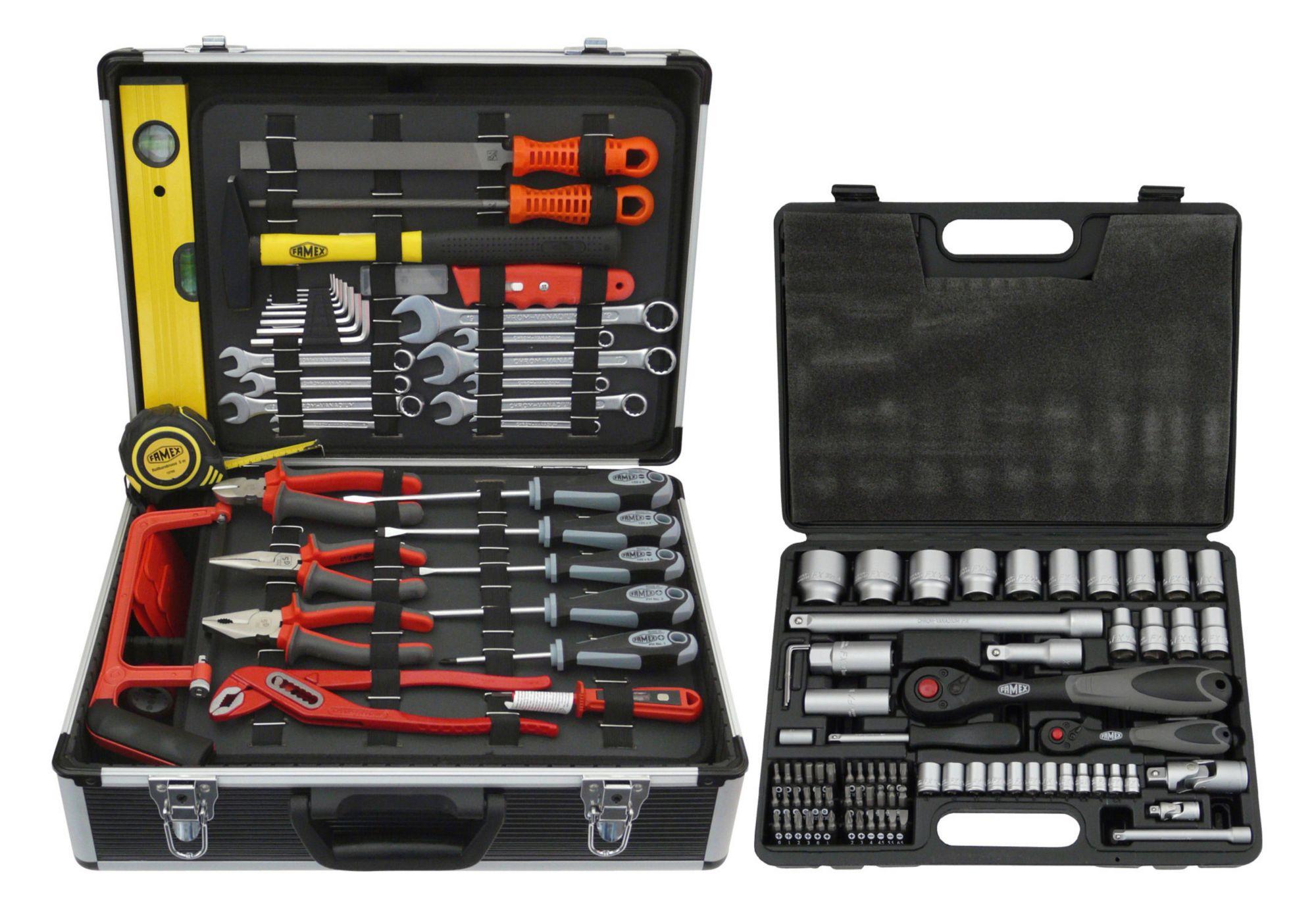 FAMEX Famex Werkzeugkoffer »744 FX-48«
