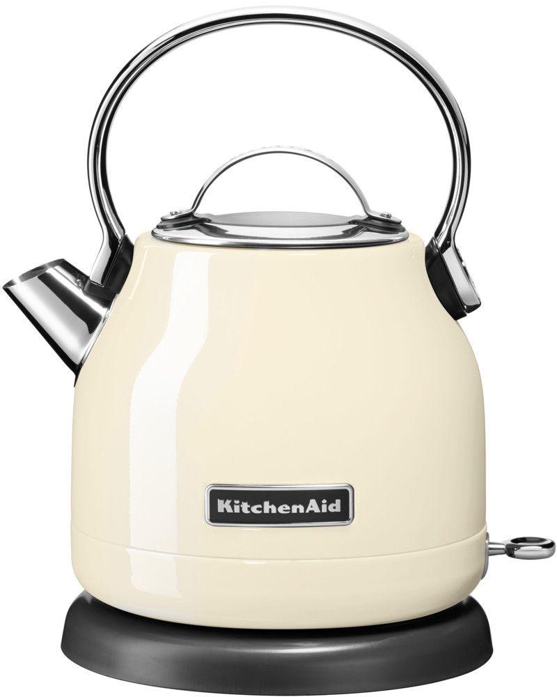 KITCHENAID KitchenAid Wasserkocher »5KEK1222EAC«, 1,25 Liter, 2200 Watt, crème