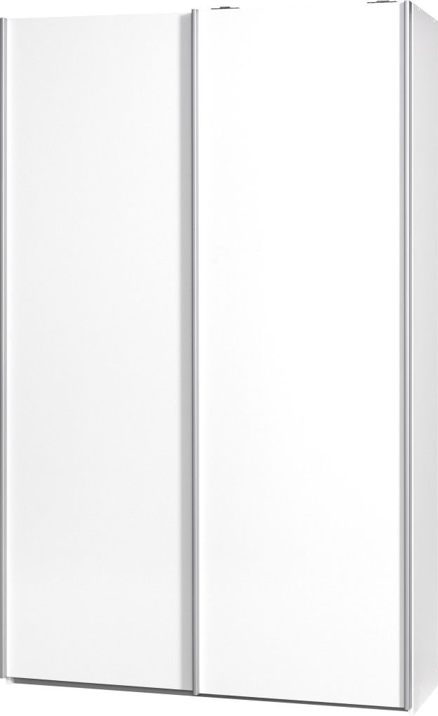 CS SCHMAL Garderobenschrank »Soft Smart«, Cs Schmalmöbel, 120 cm breit in 2 Tiefen und 6 Einlegeböden