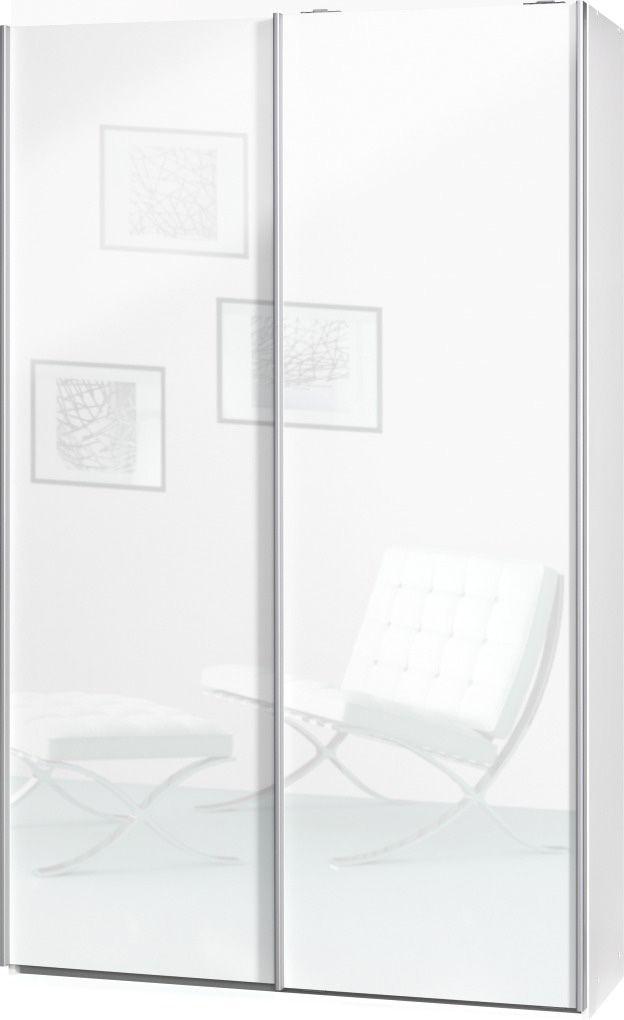 CS SCHMAL Garderobenschrank »Soft Smart«, Cs schmalmöbel, 120 cm breit in 2 Tiefen und 8 Einlegeböden