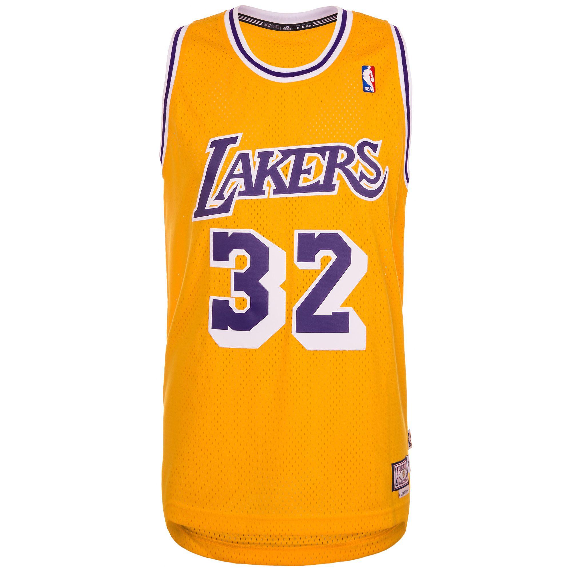 ADIDAS PERFORMANCE adidas Performance Los Angeles Lakers Johnson Swingman Basketballtrikot Herren