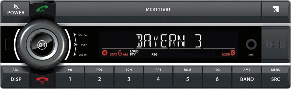 AXION Axion Autoradio »MCR 1116 BT (SD/USB/MP3/BT)«