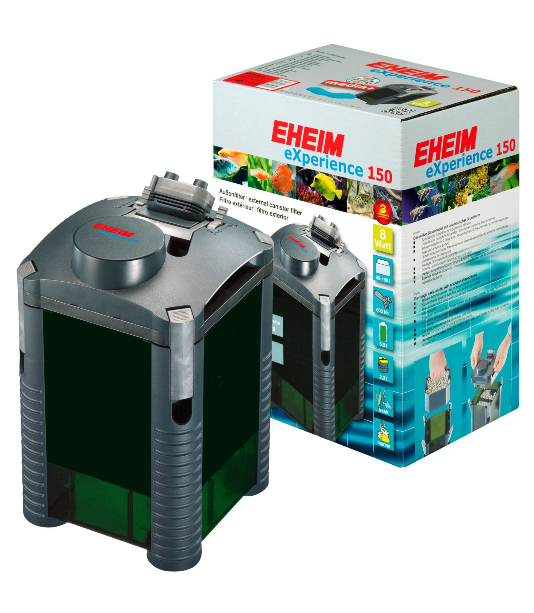 EHEIM Aquarienfilter » Außenfilter eXperience«