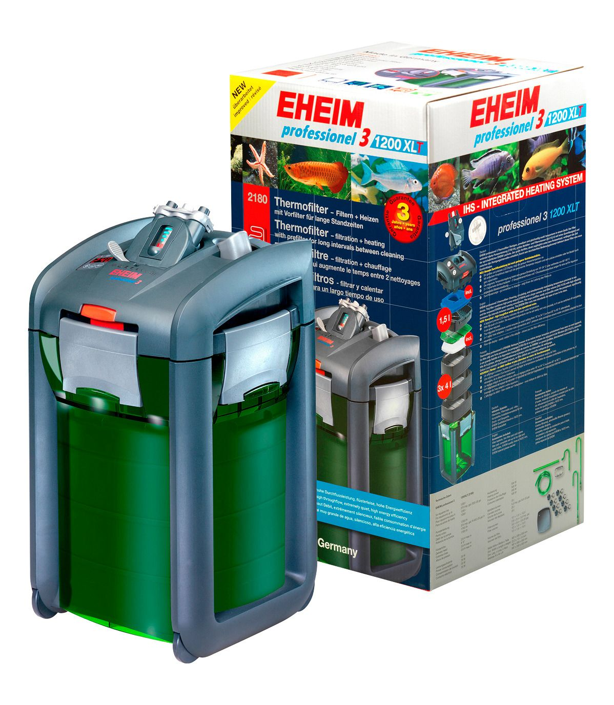 EHEIM Aquarienfilter » Thermofilter Professionel 3 1200XLT««