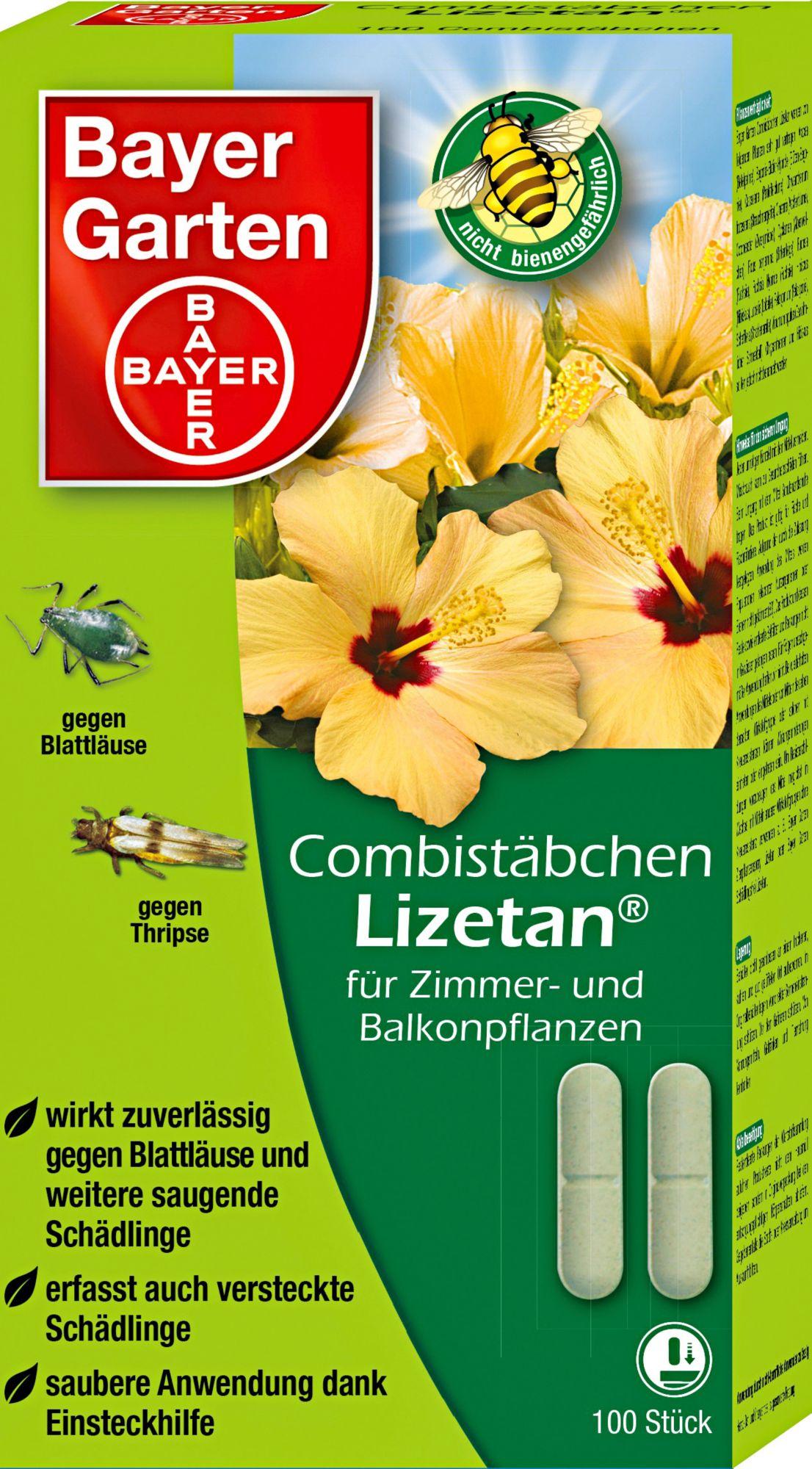 BAYER GARTEN Bayer Garten Combistäbchen »Lizetan®« in 3 Größen