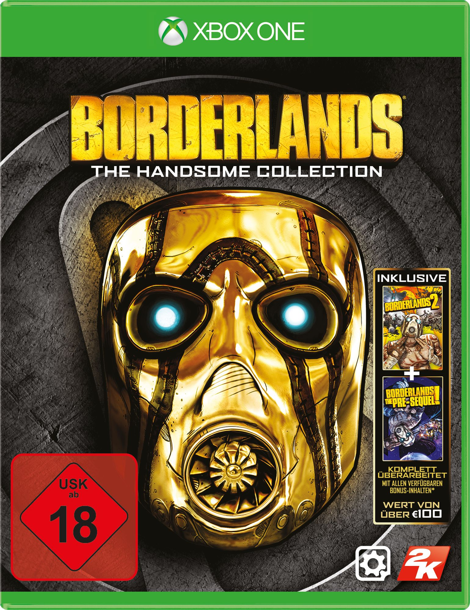 2KGAMES Borderlands: The Handsome Collection (XONE)