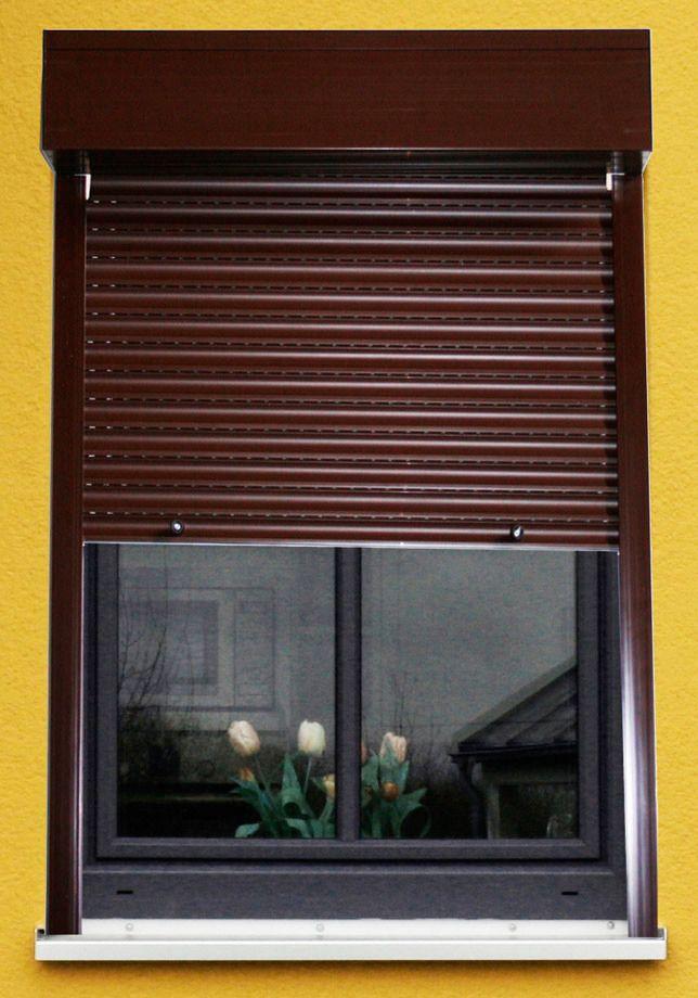 Kunststoff »Vorbau-Rollladen« Festmaß, BxH: 100x130 cm in 3 Farben
