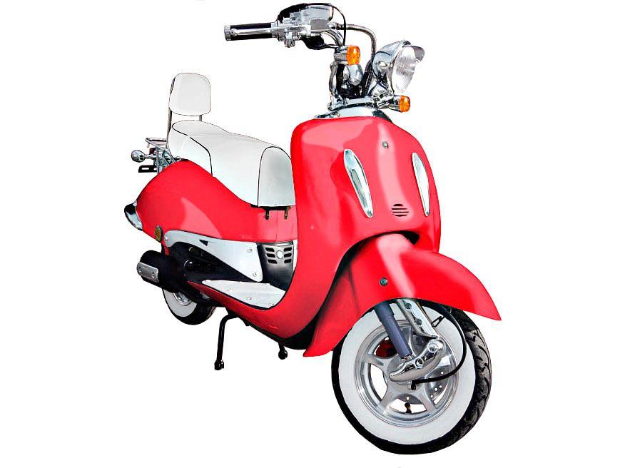 GT UNION Gt Union Motorroller »Motorroller Strada 50 ccm«