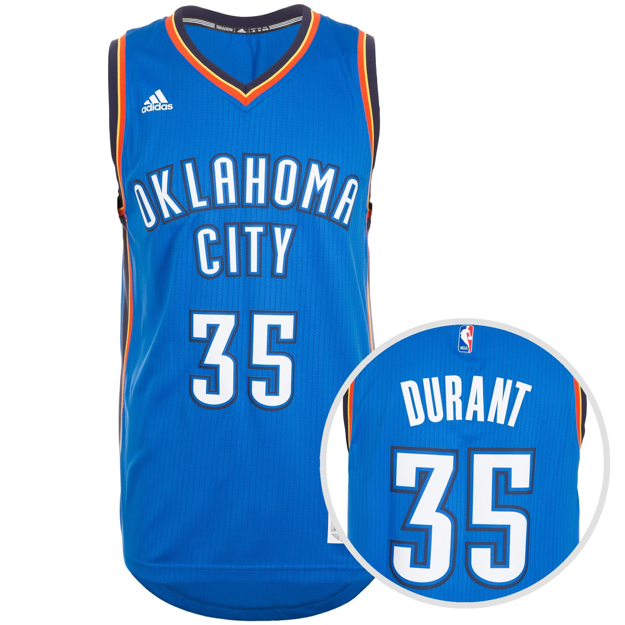 ADIDAS PERFORMANCE adidas Performance Oklahoma City Thunder Durant Swingman Basketballtrikot Herren