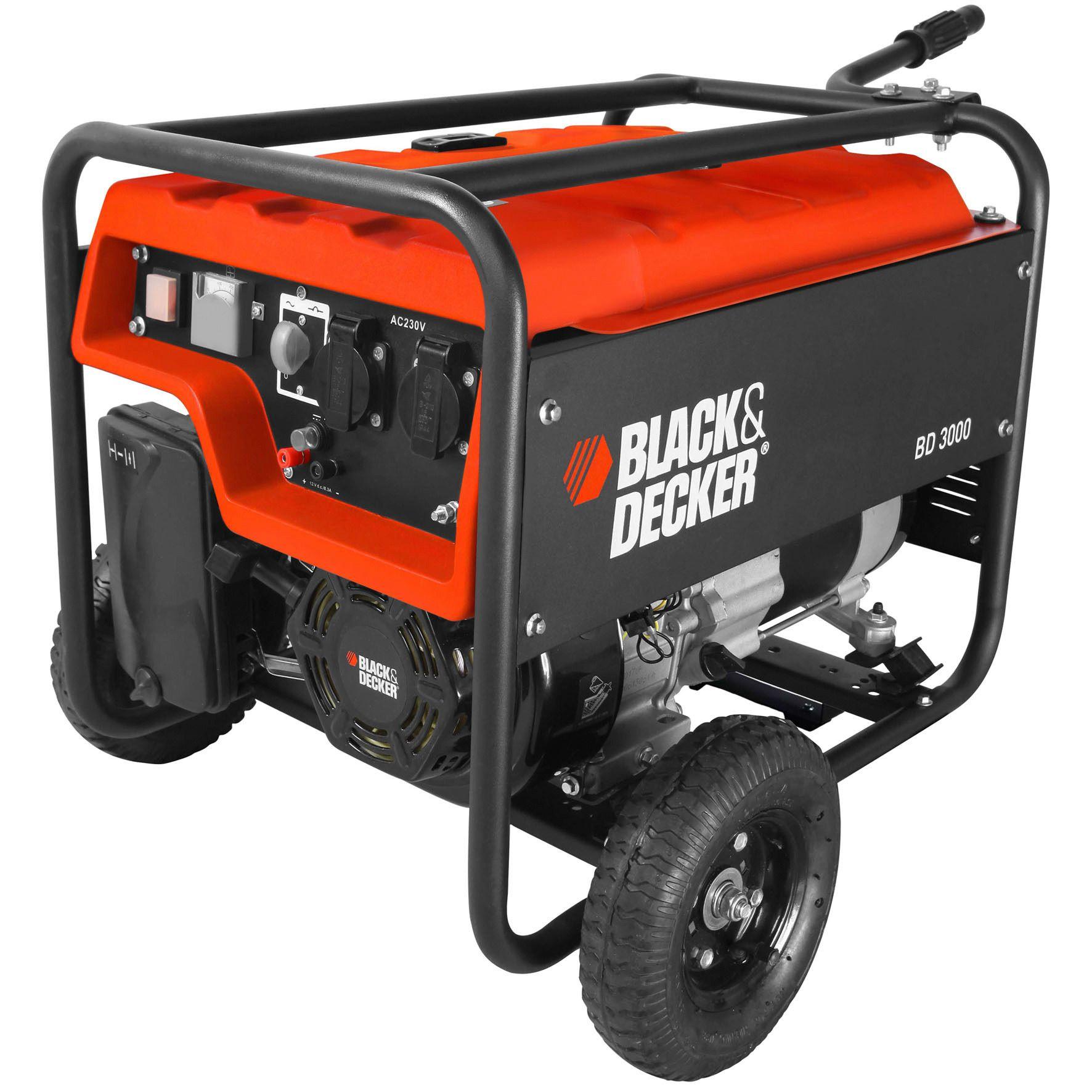 BLACK DECKER Black & Decker Stromgenerator »BD 3000«