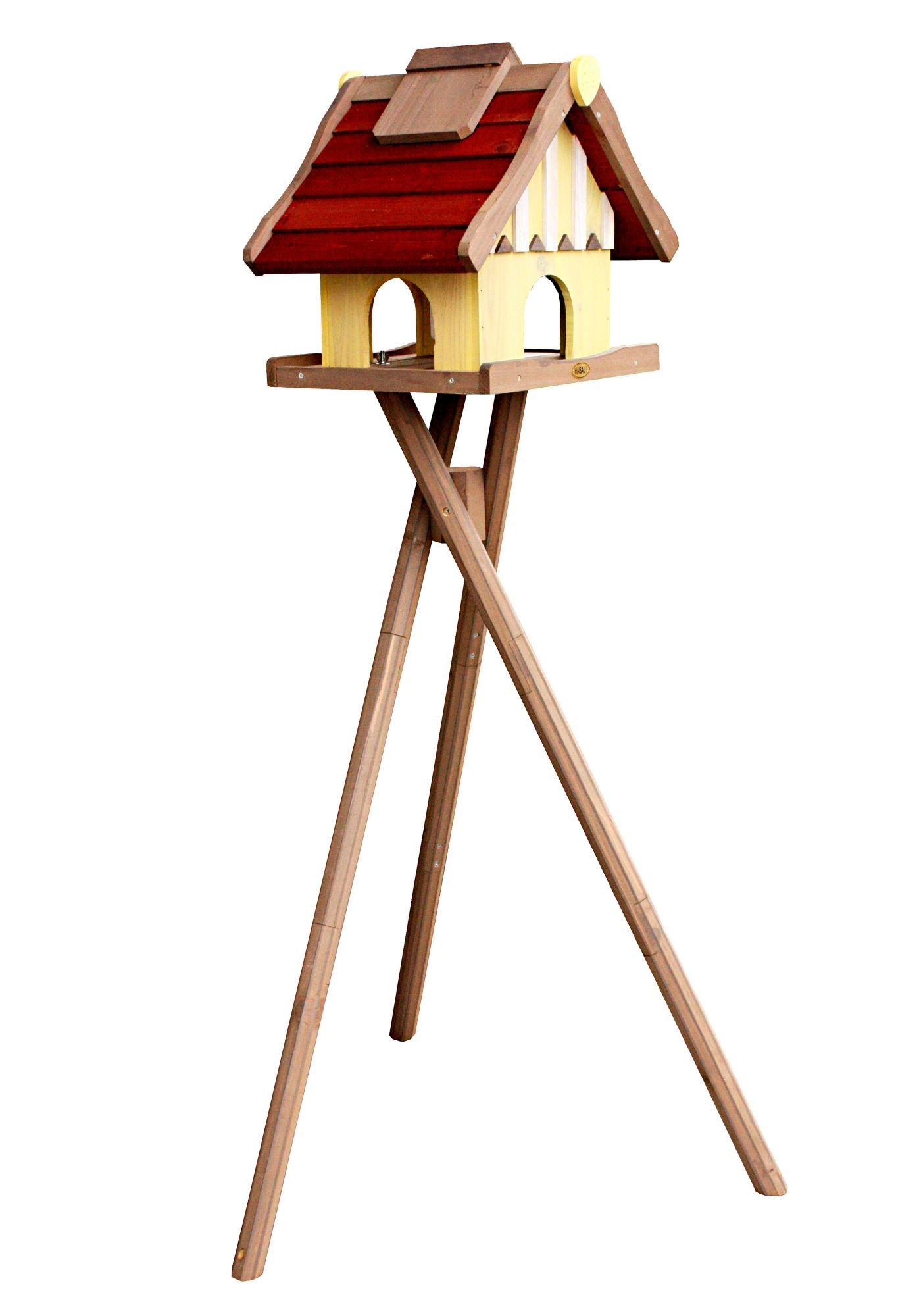 HABAU  Vogelhaus »Norwegen«, mit Standbein, B/T/H: 35/44/40 cm