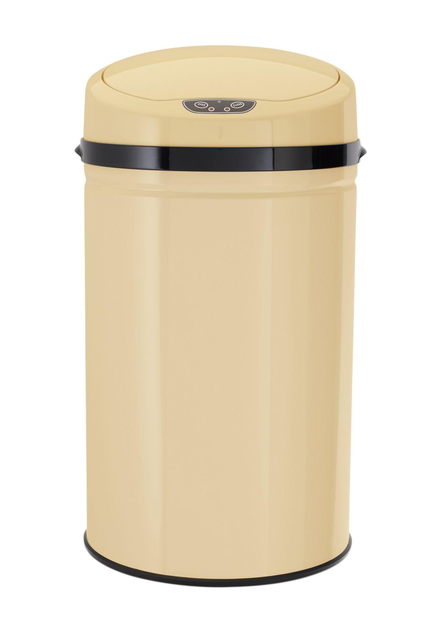 ECHTWERK Edelstahl-Abfalleimer mit Infrarotsensor, 30 Liter, »INOX VANILLA«, Echtwerk