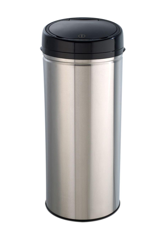 ECHTWERK Edelstahl-Abfalleimer Easy Touch, 42 Liter, »INOX BRUSHED«, Echtwerk