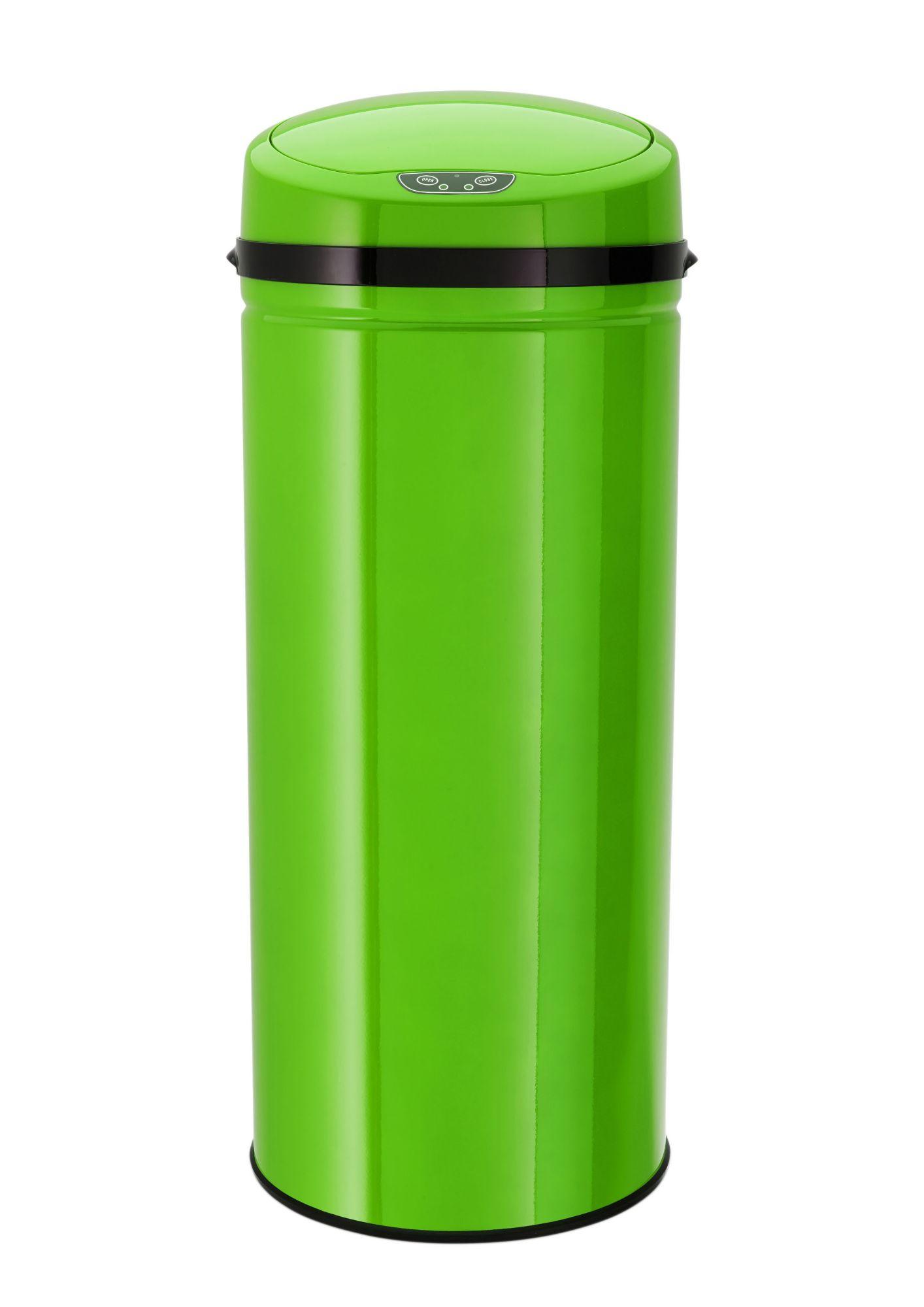 ECHTWERK Edelstahl-Abfalleimer mit Infrarotsensor, 42 Liter, »INOX LEMON«, Echtwerk