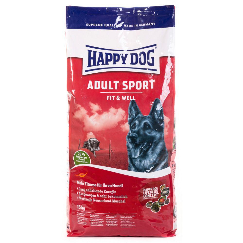HAPPY DOG Hundetrockenfutter »Supreme Fit & Well Sport«, 15 kg