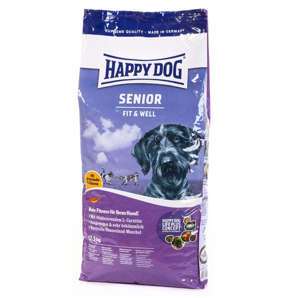 HAPPY DOG Hundetrockenfutter »Supreme Fit & Well Senior«, 12,5 kg