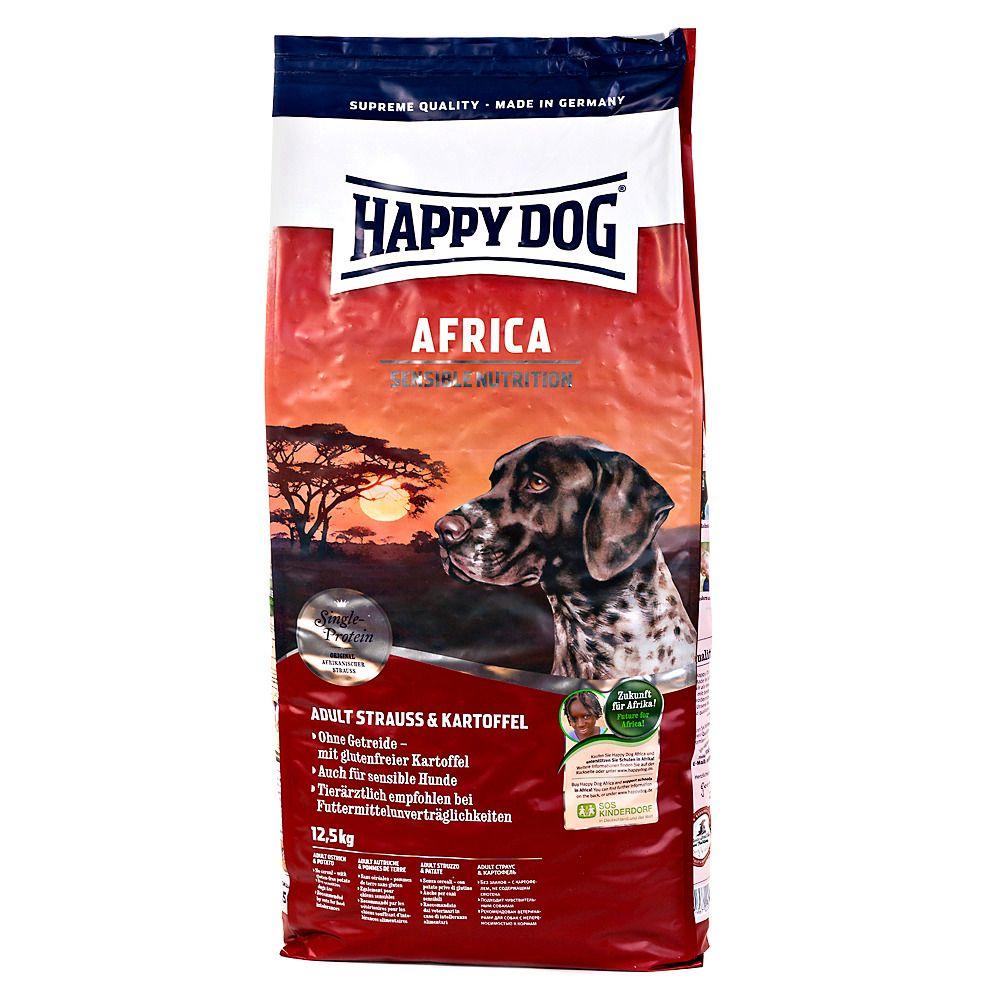 HAPPY DOG Hundetrockenfutter »Supreme Sensible Africa«, 12,5 kg
