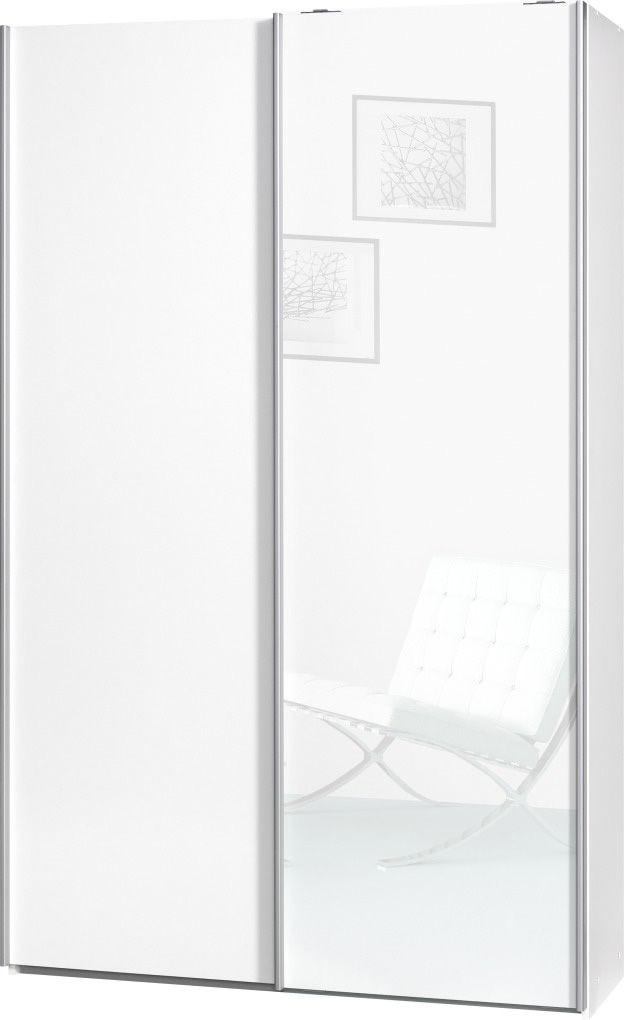CS SCHMAL Garderobenschrank, CS Schmal, »Soft Smart«, 120 cm breit inkl. Zubehör