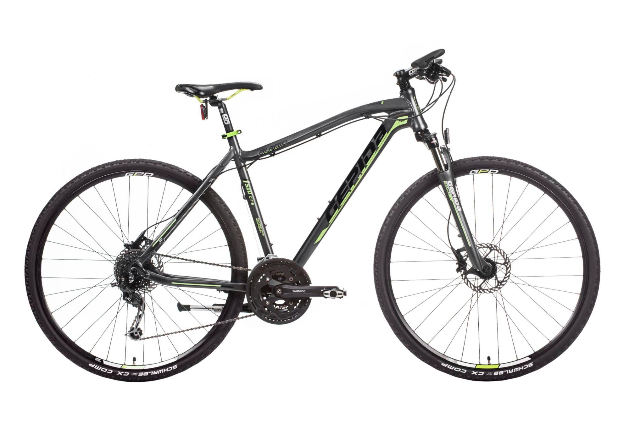 GEPIDA Hardtail Crossbike Herren, 28 Zoll, 27 Gang Shimano Deore, »Alboin 500 CRS«, Gepida