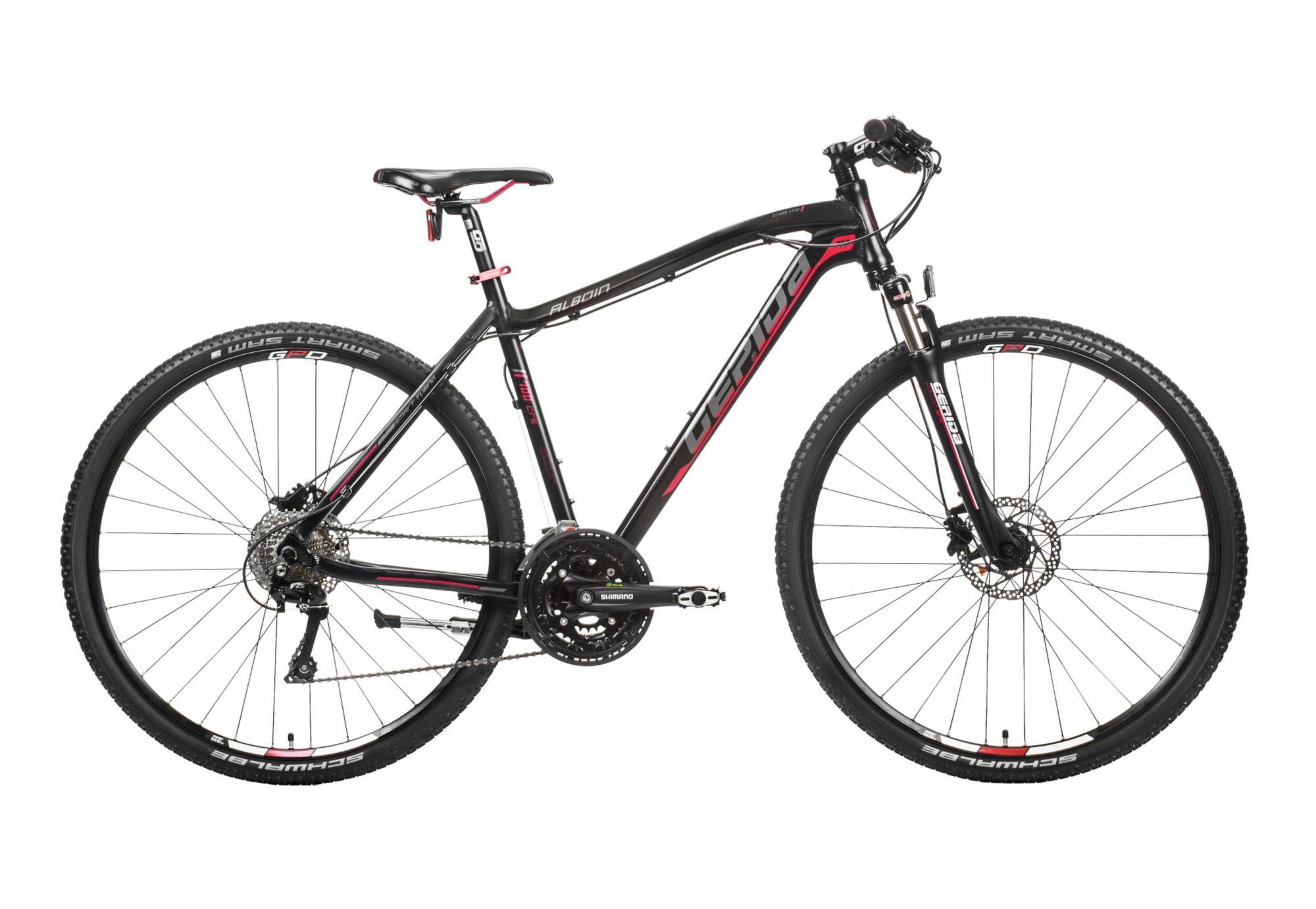 GEPIDA Hardtail Crossbike Herren, 28 Zoll, 30 Gang Shimano LX, »Alboin 700 CRS«, Gepida