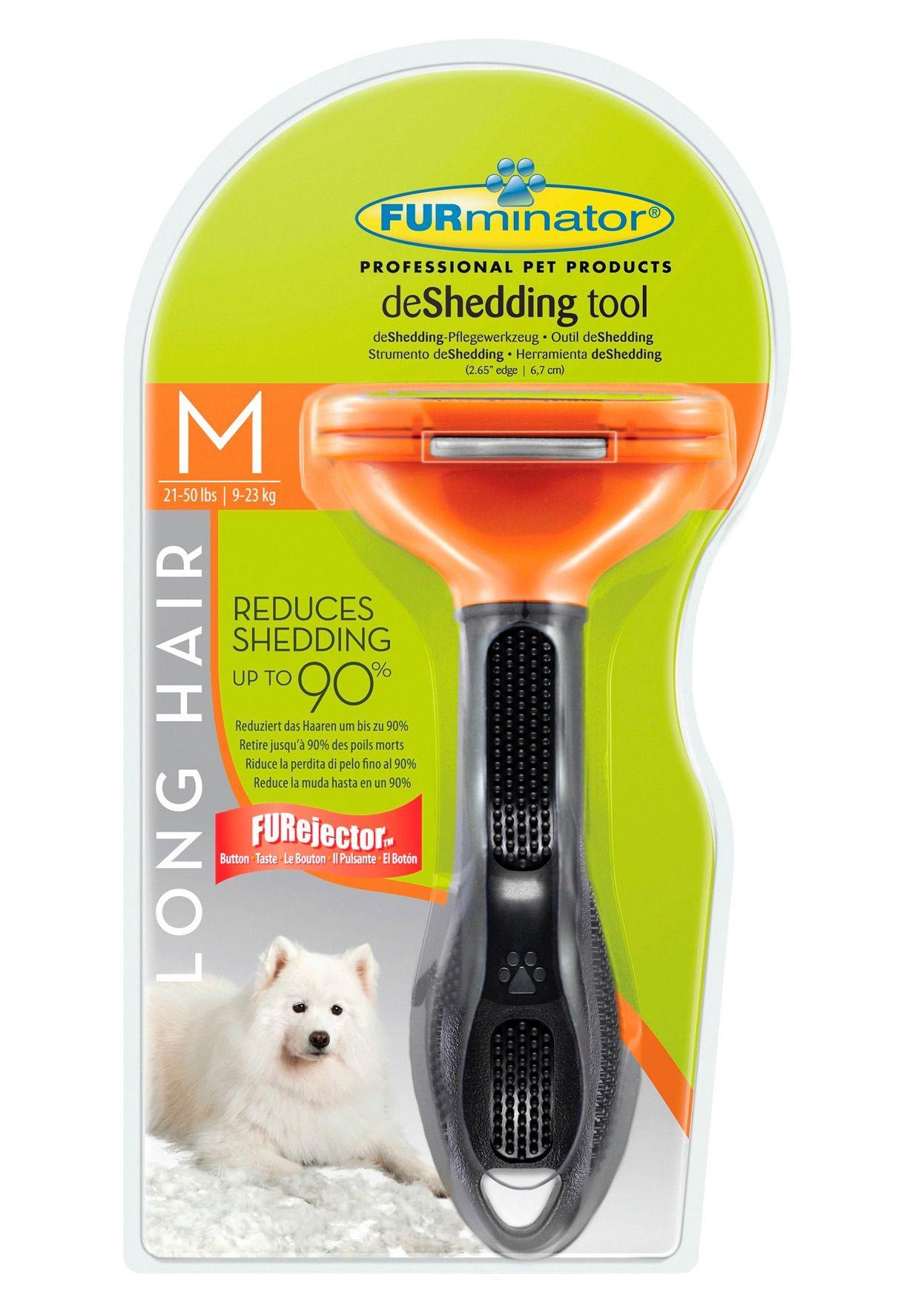 FURMINATOR Hundepflegebürste »FURminator - deShedding Long Hair M«