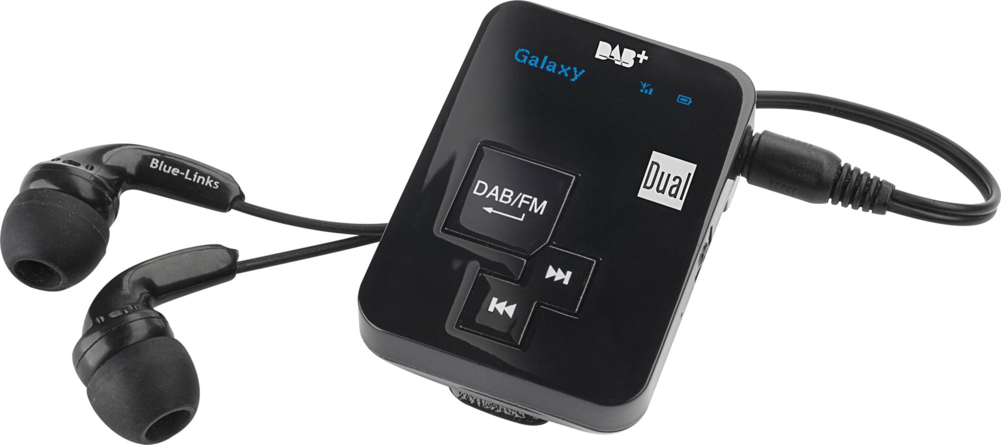 DUAL Dual DAB Pocket Radio 2 Portables Digitalradio mit Akku Radio