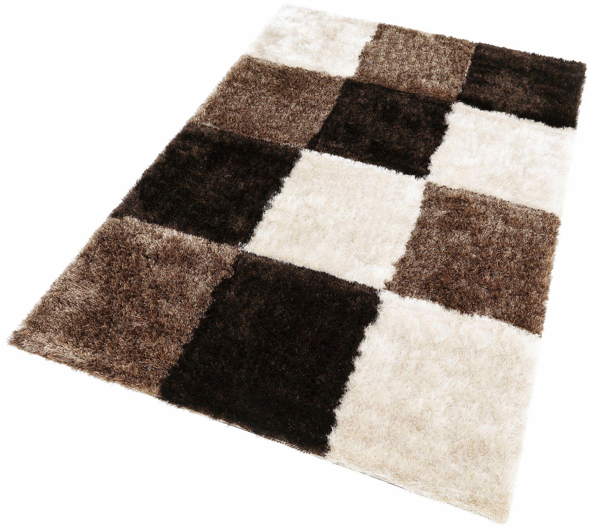 Hochflor-Teppich, Kayoom, »Diamond 752«, Höhe 50 mm, handgearbeitet