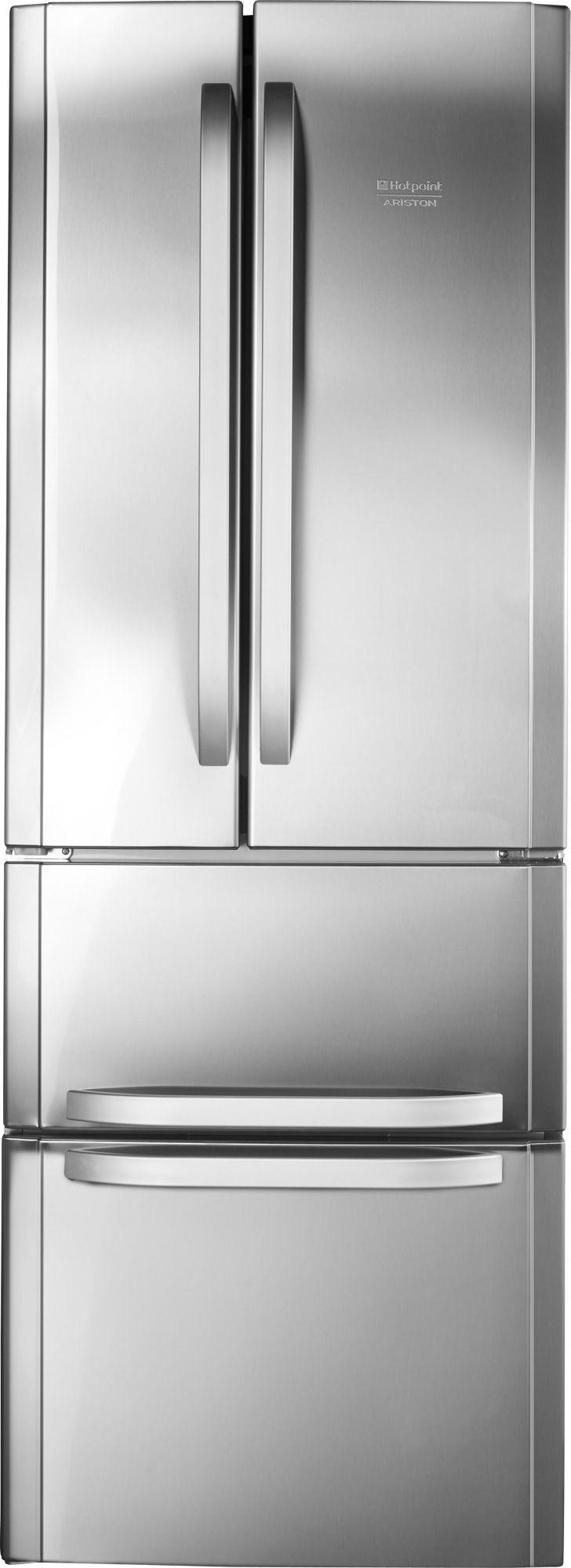 HOTPOINT Hotpoint French Door Kühlschrank E4D AAA X C, A++, 195,5 cm hoch, NoFrost