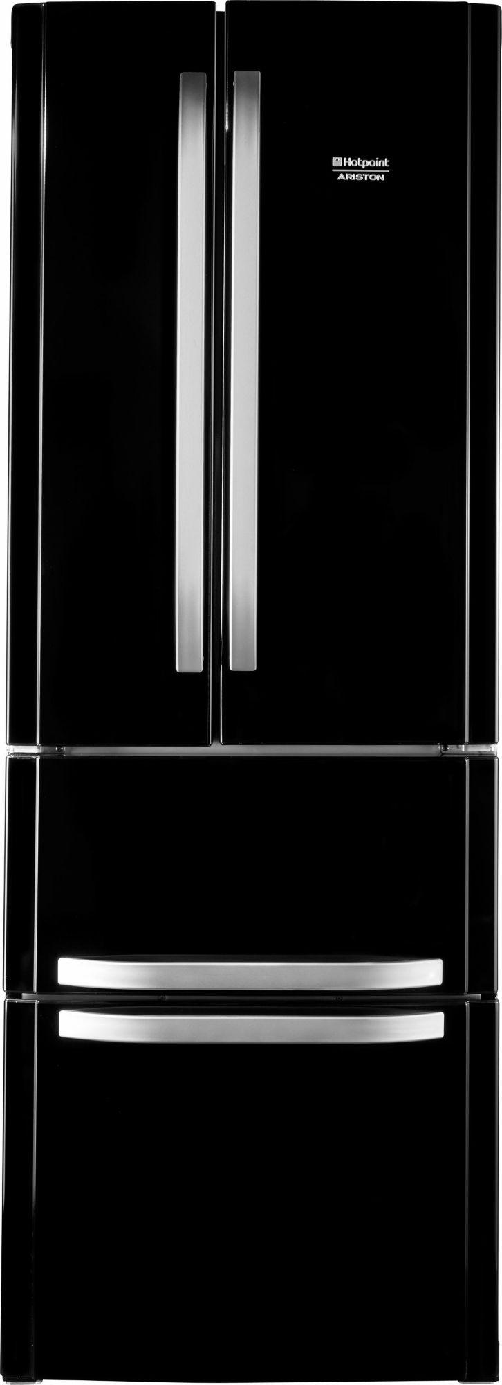 HOTPOINT Hotpoint French Door Kühlschrank E4DAABC, A+, 195,5 cm hoch, NoFrost