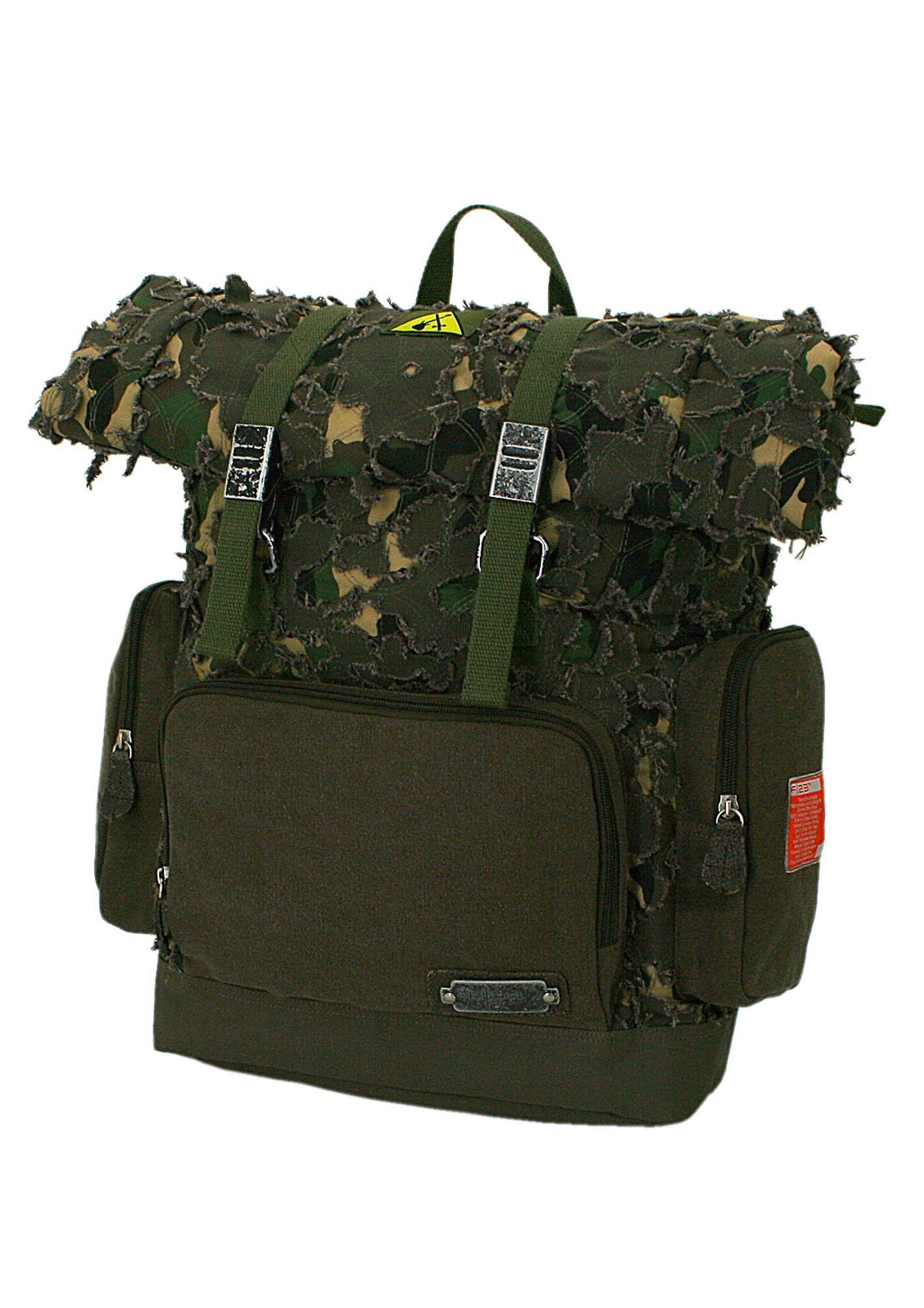 F23 Rucksack im Vintagelook, »Parapatch«, ?