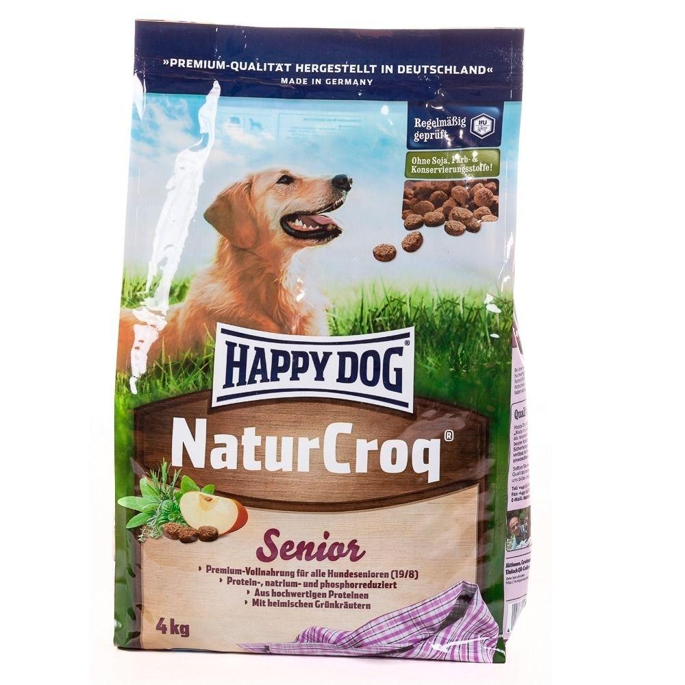 HAPPY DOG Hundetrockenfutter »NaturCroq Senior«, 15 kg