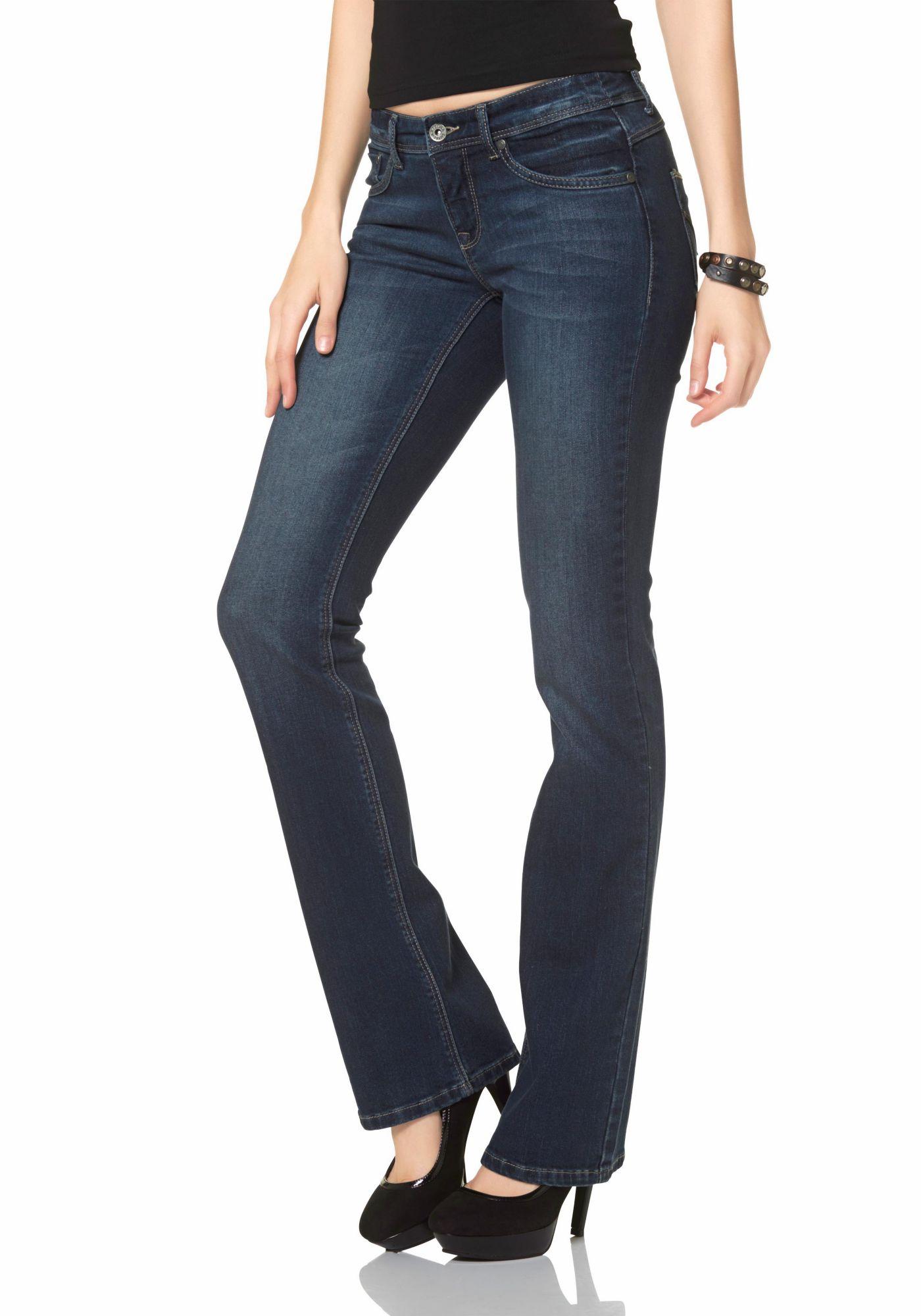 ARIZONA Arizona Bootcut-Jeans »Shaping«