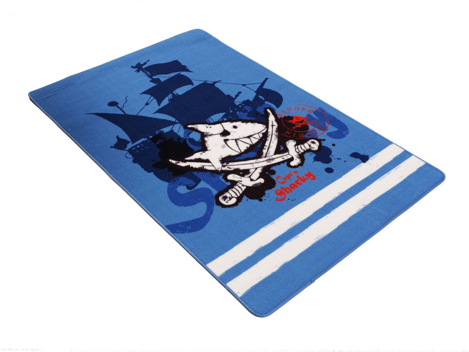 CAPTN SHARKY Kinder-Teppich, Capt'n Sharky, »SH-305«