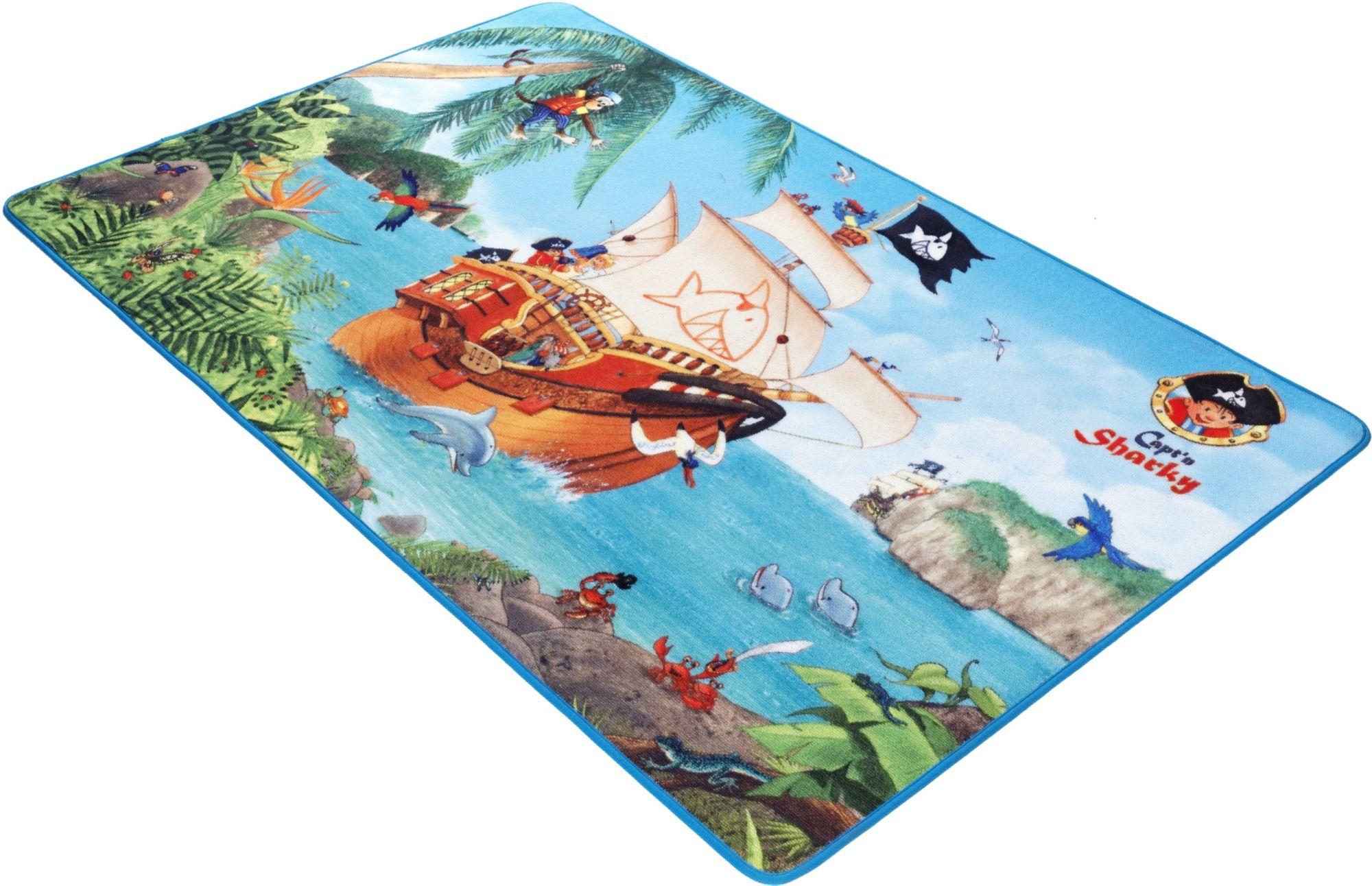 CAPTN SHARKY Kinder-Teppich, Capt'n Sharky, »SH-301«