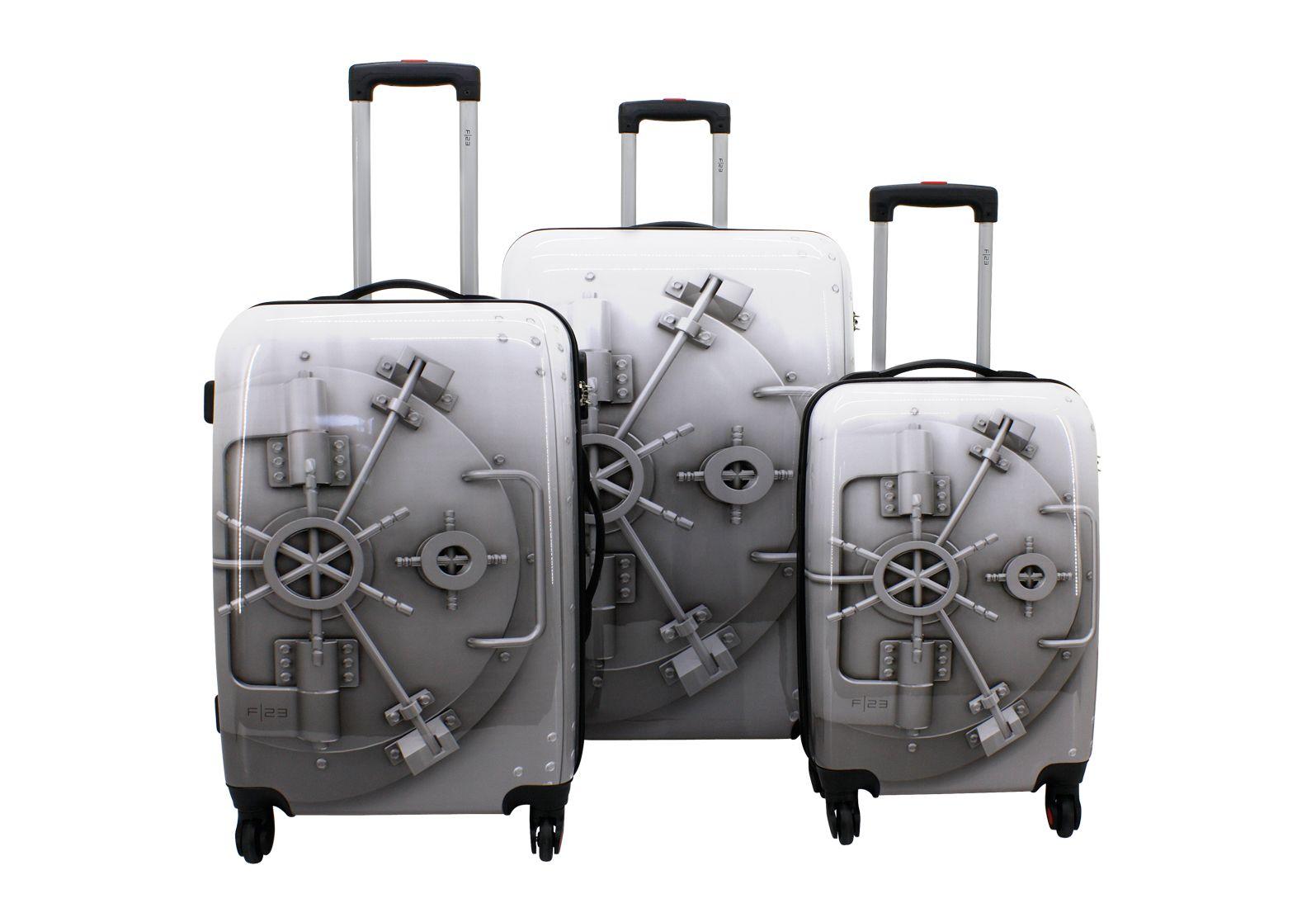 F23 ? Trolley-Set mit 4 Twisterrollen, »Tresor« (3tlg.)