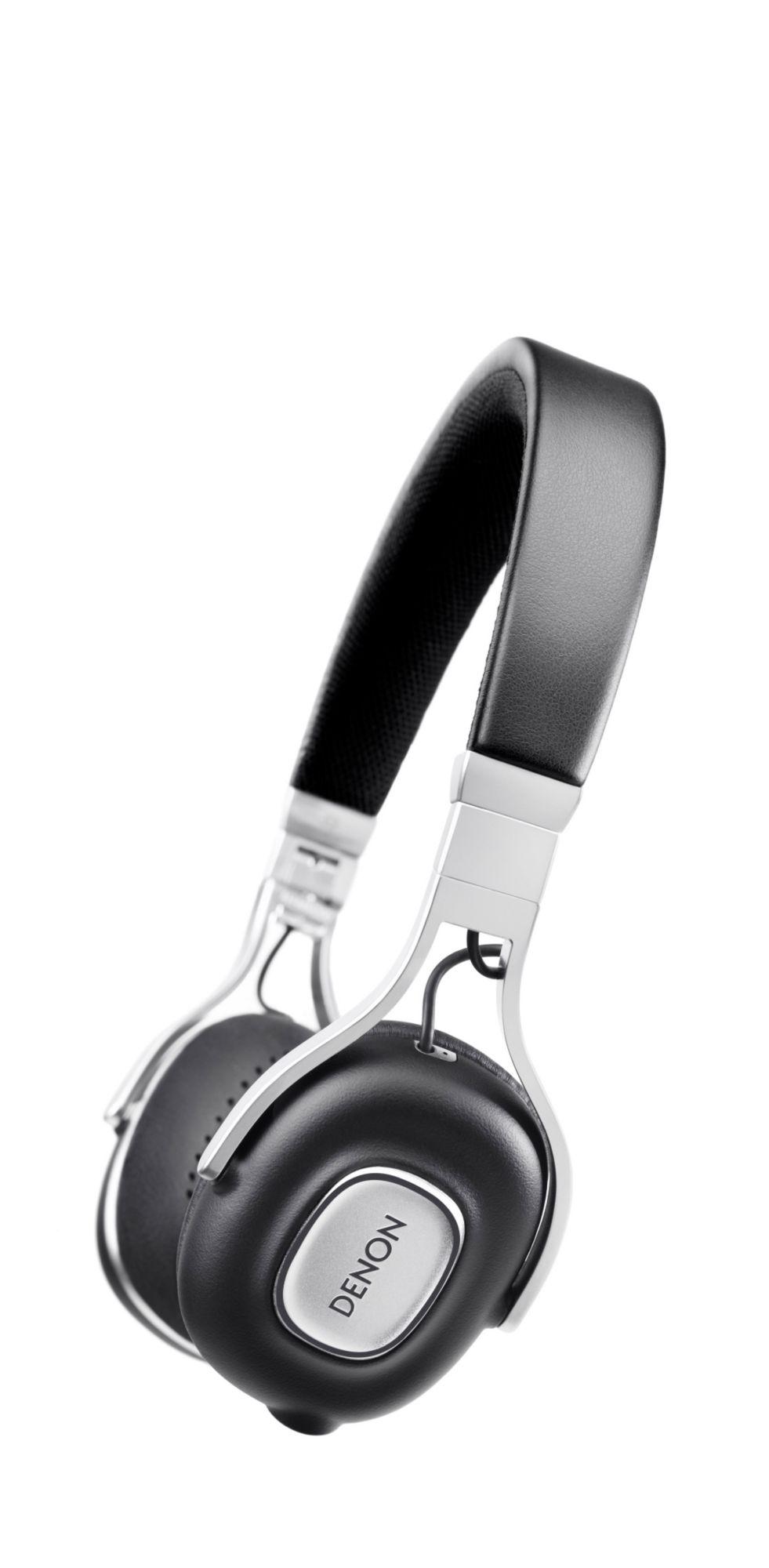 DENON Denon AH-MM200 On-Ear-Kopfhörer, Mikrofon &  Fernbedienung, Schwarz