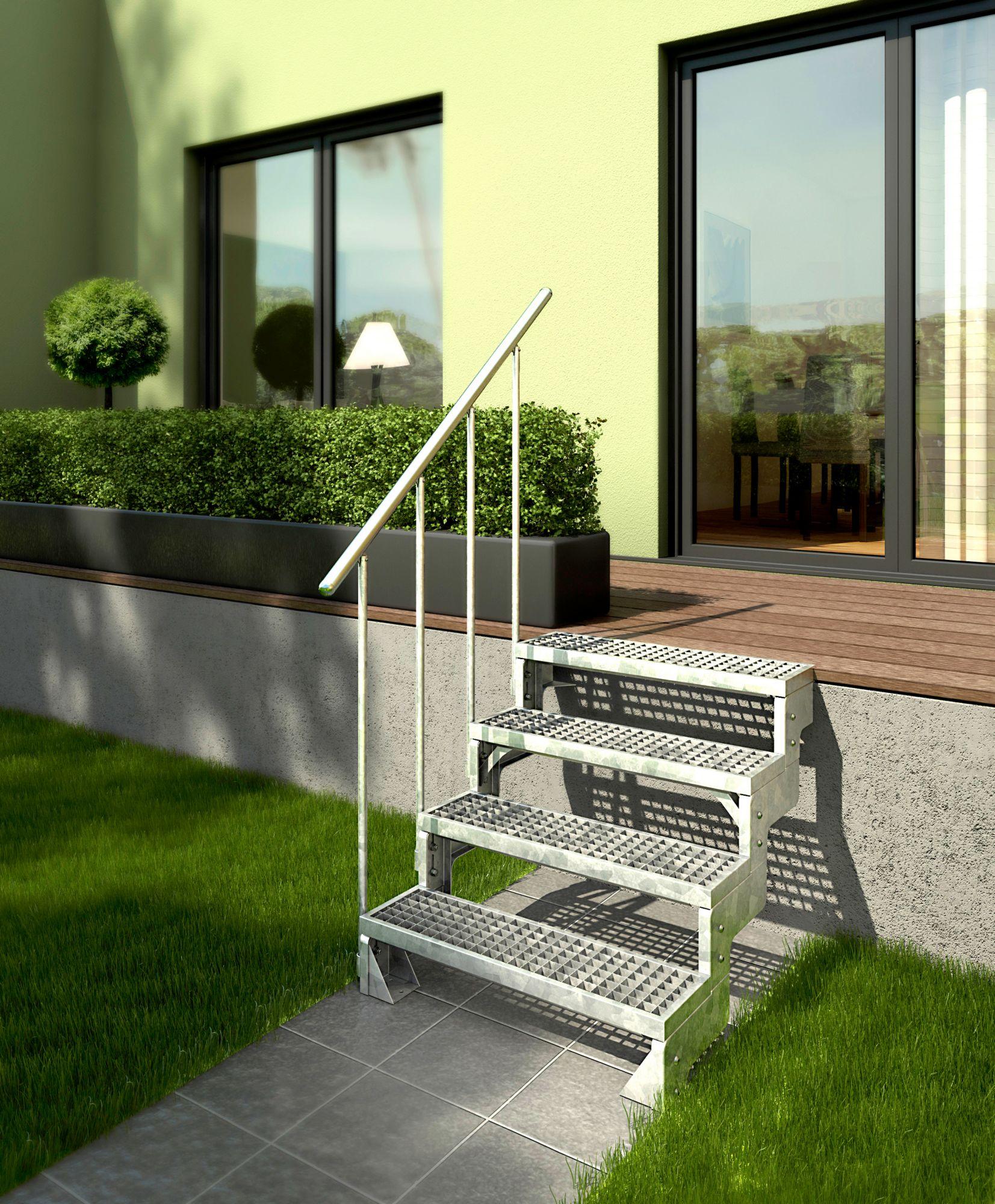 DOLLE Dolle Gitterroststufe »Gardentop, 80 cm Breite«