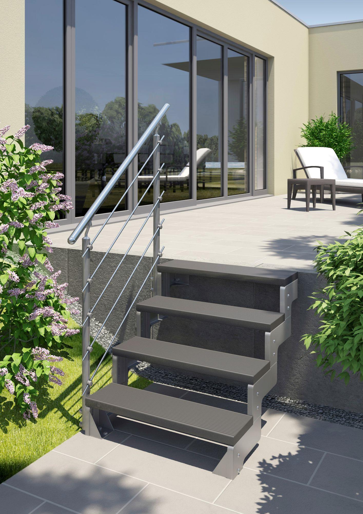 DOLLE Dolle Außentreppe »Gardentop«, Startset für 2 Stufen