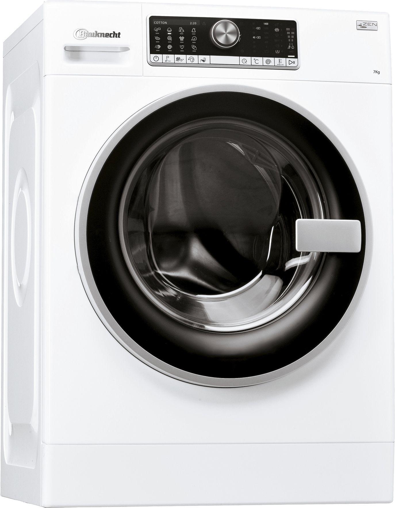 BAUKNECHT  Waschmaschine WM Trend 724 ZEN, A+++, 7 kg, 1400 U/Min
