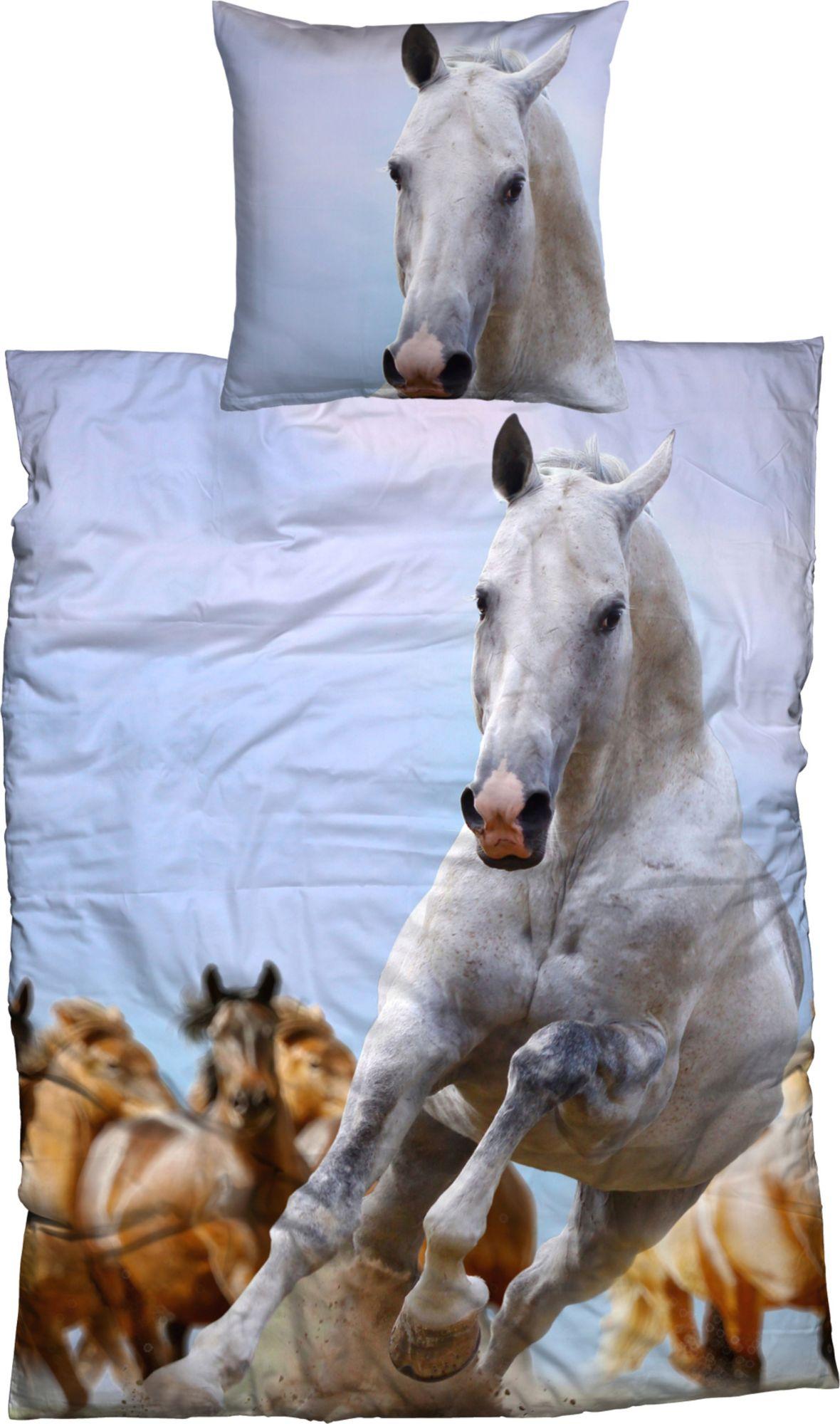 CASATEX Bettwäsche, Casatex, »Cheval«, galoppierendes Pferd