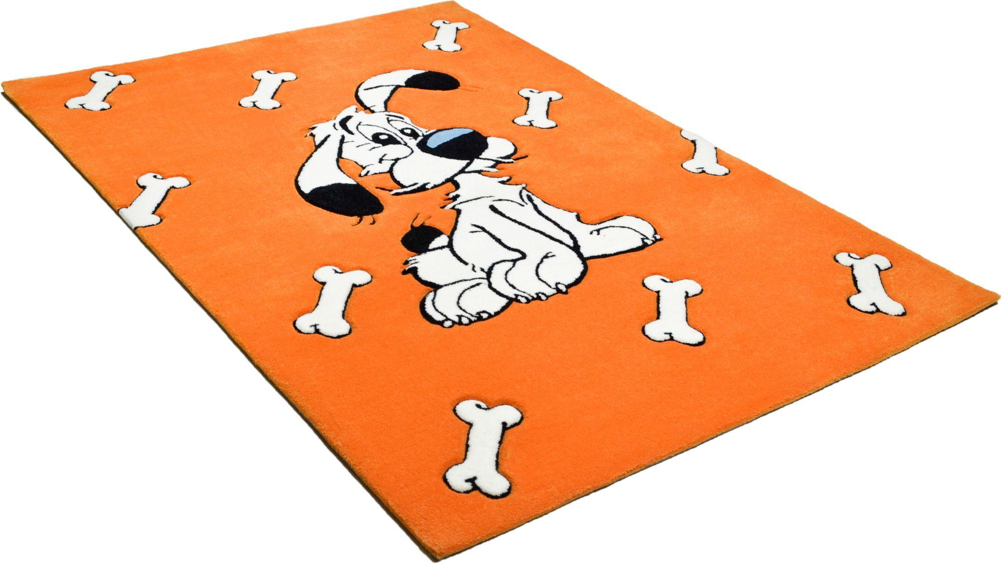 ASTERIX Kinder-Teppich, Asterix, »Der schlaue Idefix«, handgearbeitet