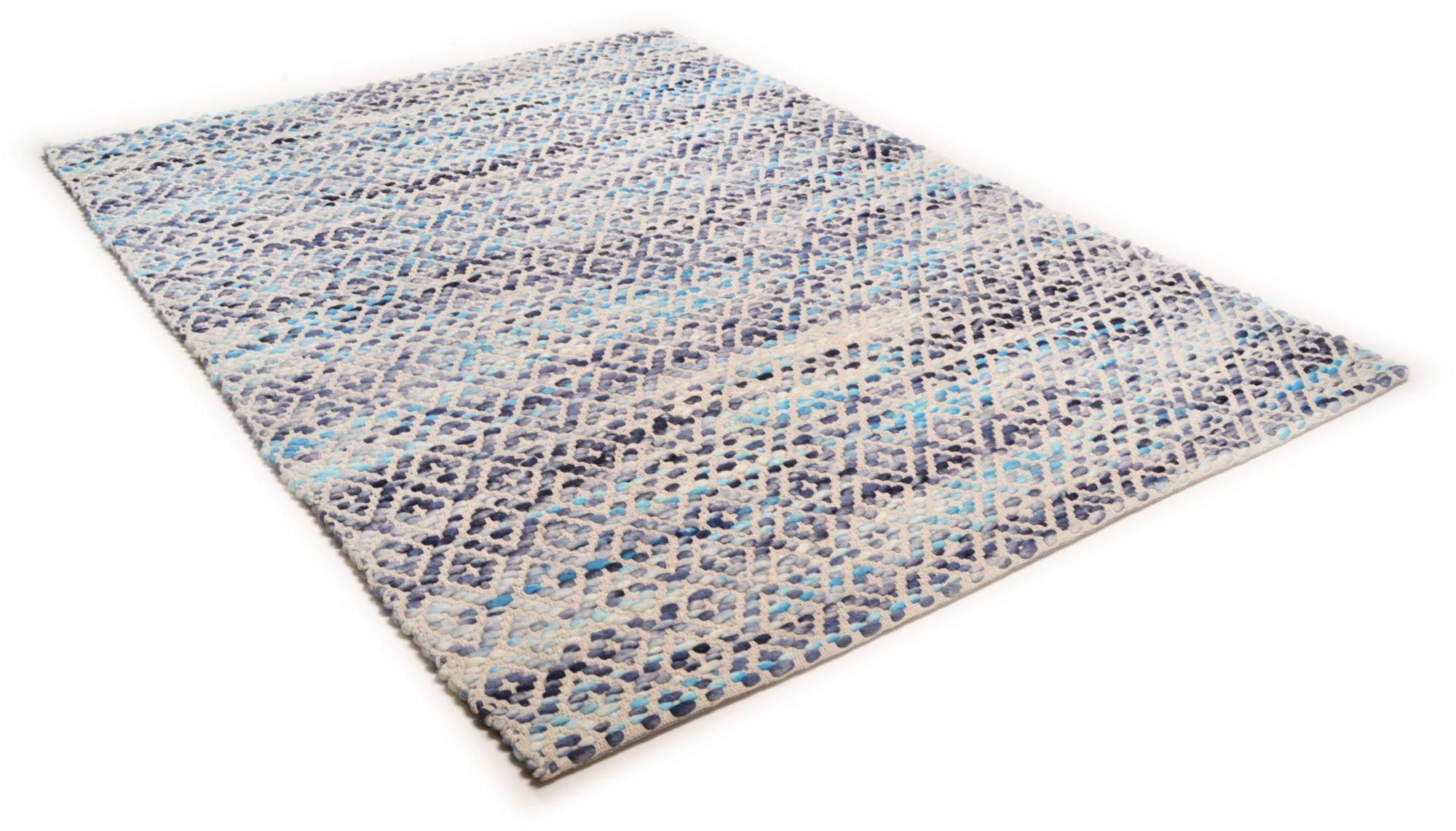 Teppich, Tom Tailor, »Diamond«, handgearbeitet, Wolle