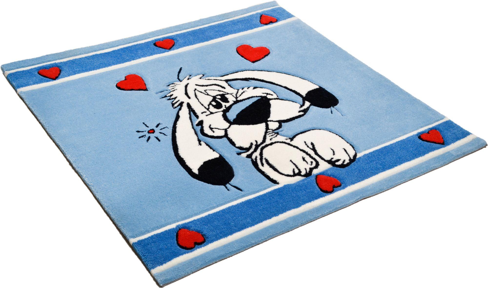 ASTERIX Kinder-Teppich, Asterix, »Der verliebte Idefix«, handgearbeitet