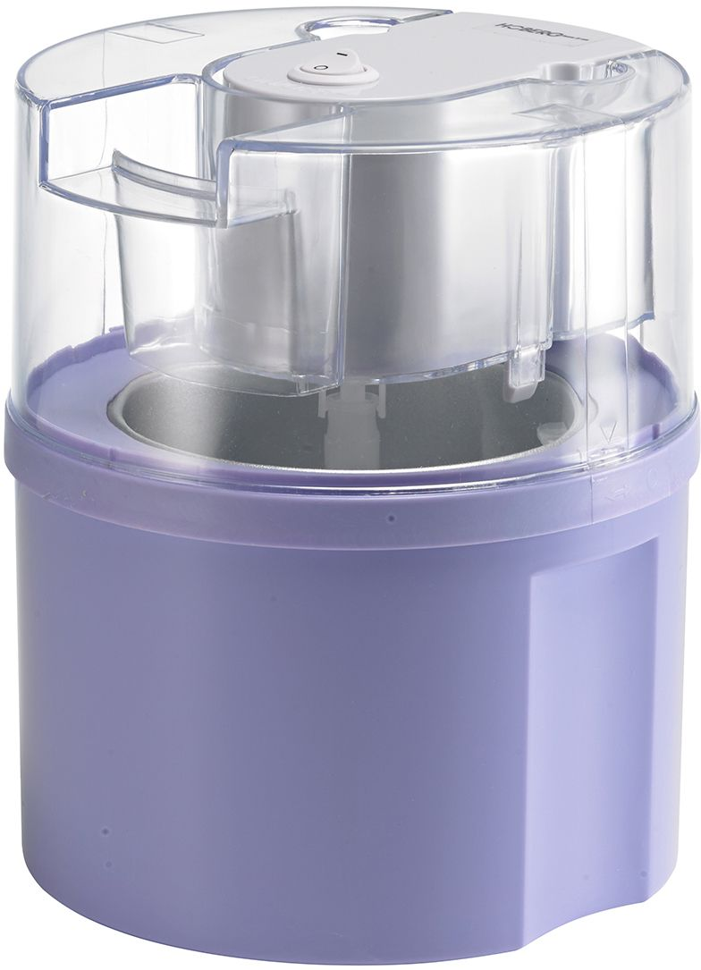HOBERG Hoberg Eismaschine Eisfixx D2000801, flieder, für 0,5 Liter Eis, 12 Watt